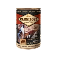 Carnilove Lamb and Wild Boar консервы для собак с ягненком и диким кабаном 400г
