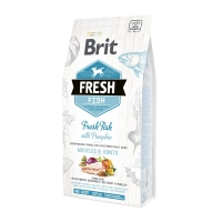 Brit Fresh Fish with Pumpkin Adult Large сухой корм для собак крупных пород с рыбой и тыквой 2,5кг